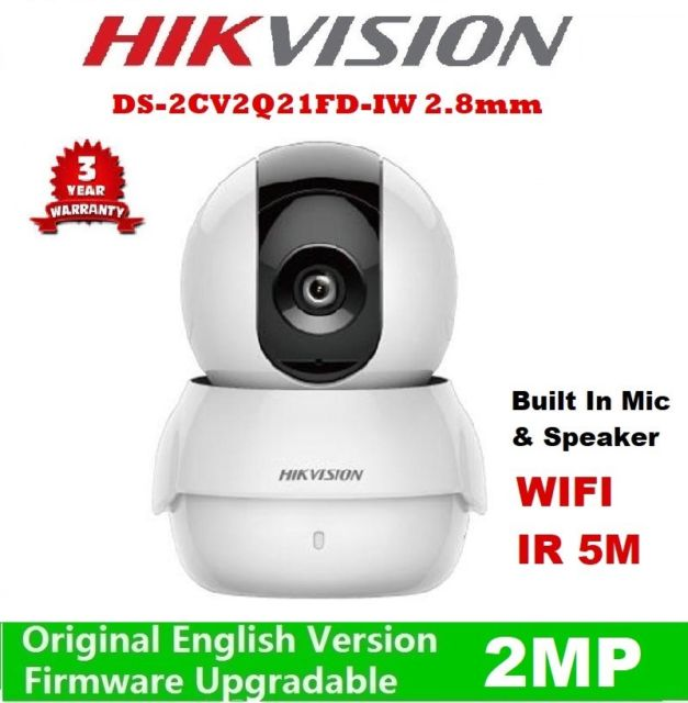 DS-2CV2Q21FD-IW CAMERA IP MINI PT 2MP